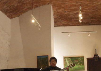 個人経営の「ジンバイロン美術館」で超絶クラシックギター鑑賞 , Guanafuato, Mexico