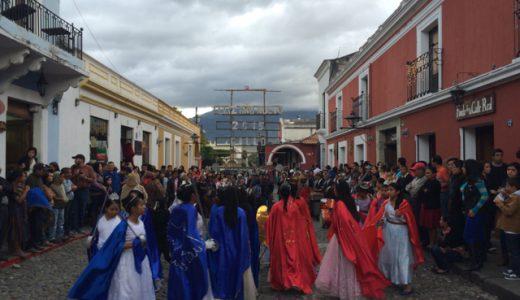 大晦日で街は賑やかだけど、今日もスペイン語勉強!3日目! , Antigua, Guatemala