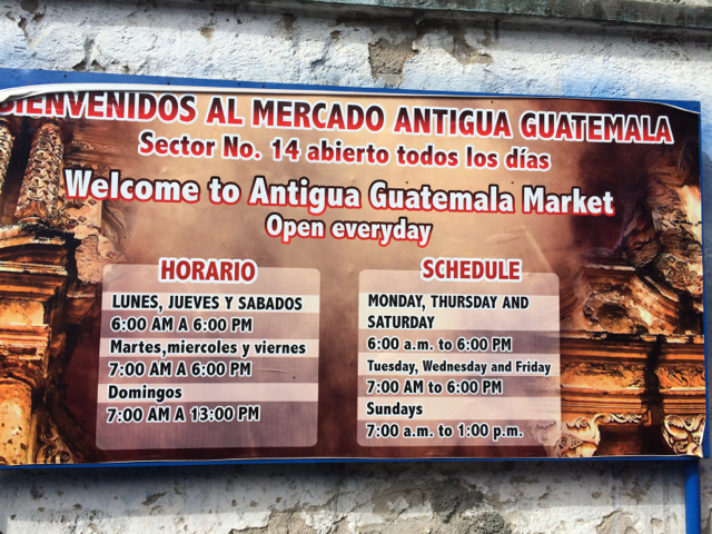 Antigua - 90mercadosign