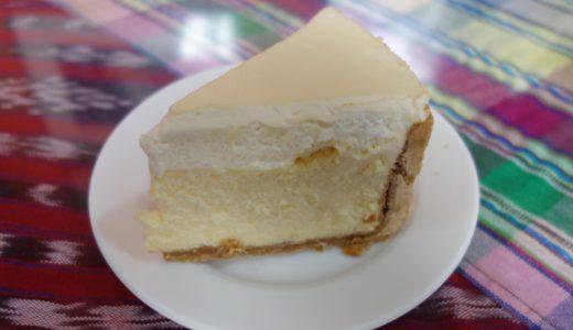 美味しい!Cafe CondesaのNYチーズケーキ!, Antigua, Guatemala
