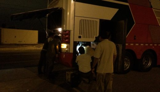 まさかのエンジンストップ!チクラヨからリマへバス移動, Chiclayo , Peru