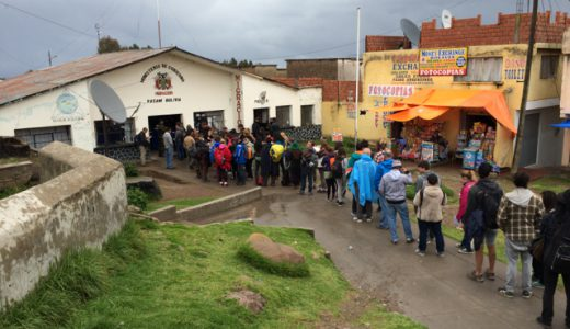ペルー・プーノからボリビア・コパカバーナ(Copacabana)へバス移動, Puno , Perú