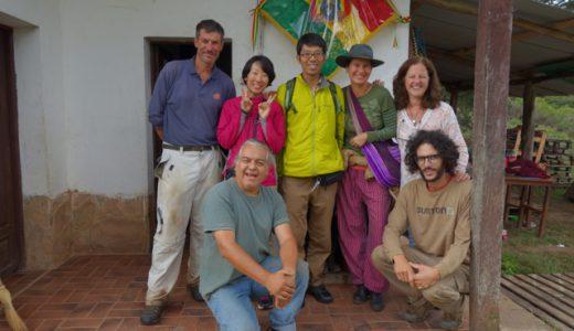 夢の学校「Flor de Montaña 」を後にして  , Samaipata , Bolivia