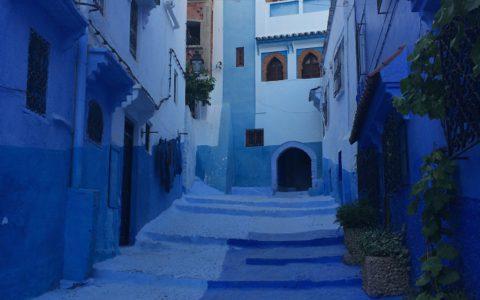 シェフシャウエンの青に染まる!女性憧れの、青一色の街 , Chefchaouen , Morocco
