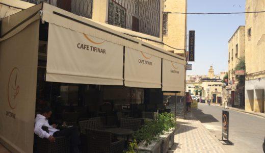 モロッコ名物「おじさんカフェ」 , Fez , Morocco