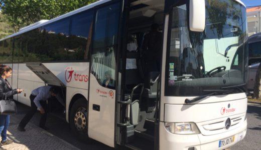 ナザレからコインブラ(Coimbra)へバス移動 ,Nazaré, Portugal