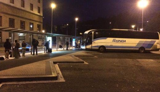 バルセロナからサンセバスティアン(San Sebastián)へバス移動 , Barcelona , Spain