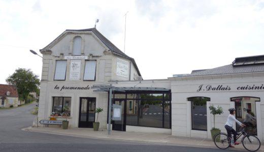 ミシュランの星付きの名店発見!隣村プティプレシニーへサイクリング! , Le Grand Pressigny , France