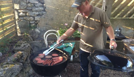 外で食べよう!イギリス式バーベキュー! , Le Grand Pressigny , France