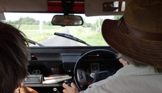 名車シトロエン2CVに乗って、マルシェへ買い物へ! , Le Grand Pressigny , France