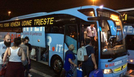 イタリア・ローマからスロベニア・ブレッド(Bled)へバス&電車移動 , Roma , Italy