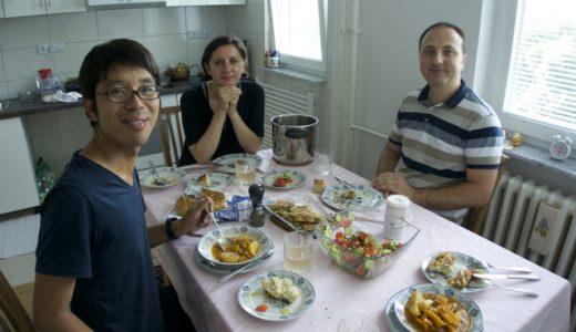 友人の家で、おいしいお手製のボスニア料理を味わう! , Sarajevo , Bosnia and Herzegovina