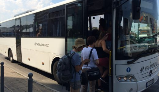 ブダペストからヤースベレーニ(Jászberény)にバス移動 , Budapest , Hungary
