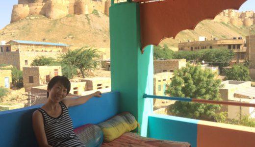 名物のホスピタリティ!ジャイサルメール「Hotel Fort Side」 , Jaisalmer , India