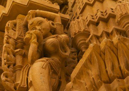 砂漠の芸術!繊細すぎるジャイナ教寺院! , Jaisalmer , India