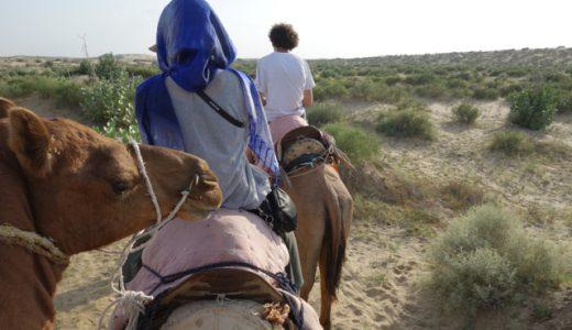 砂漠を生きる民に出会う、ジャイサルメール・キャメルツアー! , Jaisalmer , India