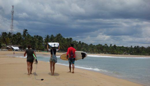 サーフィンの世界的有名スポット!「アルガンベイ(Arugam Bay)」で泳いでみる! , Arugamubay , Sri Lanka