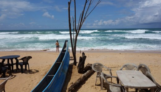 サーフィンの有名スポット「ヒッカドゥワ(Hikkaduwa)」にも行ってみた! , Hikkaduwa , Sri Lanka