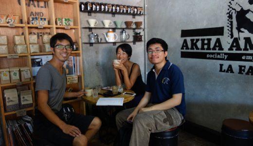 現地のタイ人にカフェでタイ語を習う!新しいタイ語学習スタイル! , Chiang Mai , Thailand