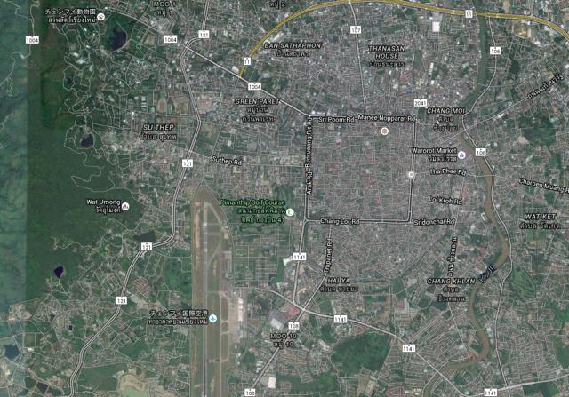 Chiang Mai - 53map