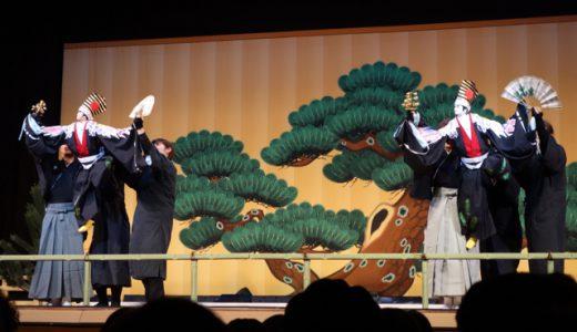 感動!珍しい、人形浄瑠璃と筑前琵琶の共演!