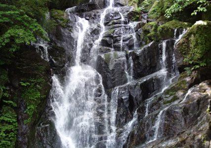 糸島夏の定番!マイナスイオンがいっぱいの「白糸の滝」