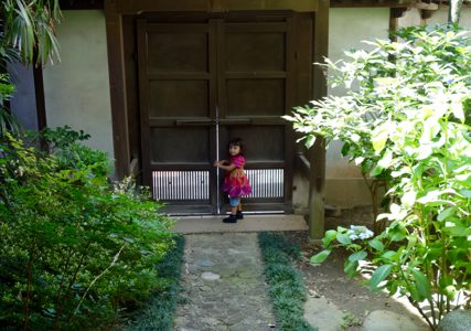 古材の森の隠れ見所!お殿様が入る特別な門がある!