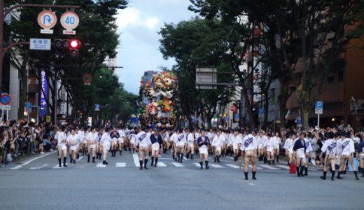 伝統の博多祇園山笠は海洋民族の祭り!?