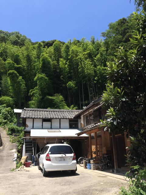 産の森学舎外観