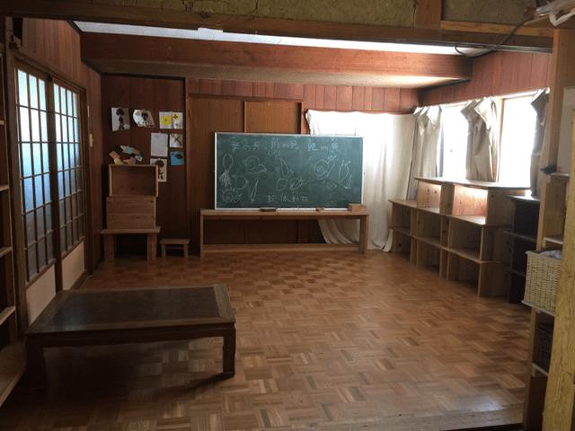 産の森学舎内観1