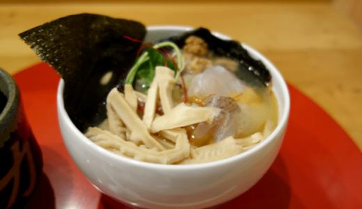 「鯛らーめん穂と花(ほとはな)」鯛の漁獲量日本一の、福岡・糸島のラーメン!