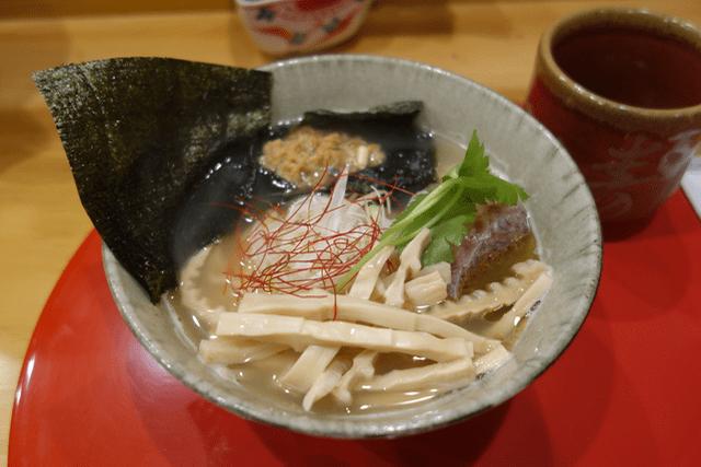穂と花 - 鯛ラーメン