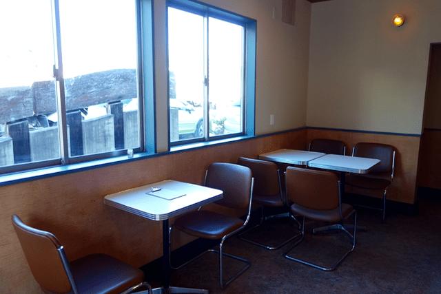 mulberrycoffee - テーブル席