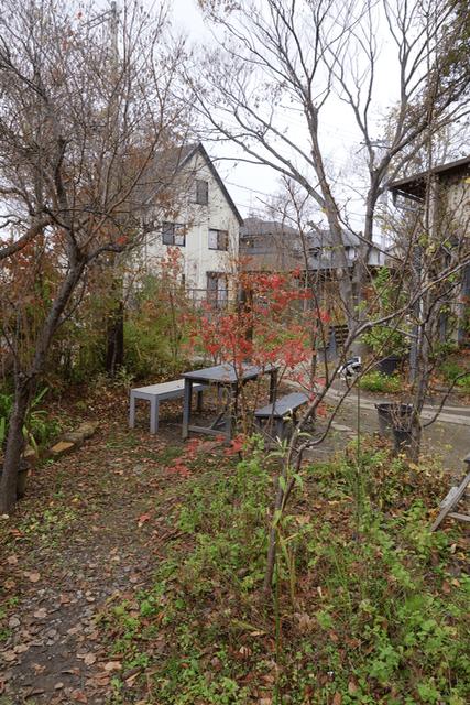 くるみの木 - 庭