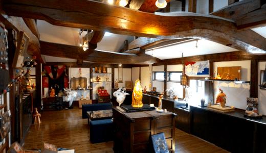 「天平工房(てんぴょうこうぼう)」創造的な、博多人形の工房&ギャラリー