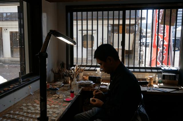 天平工房 - 作業風景