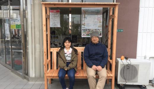 「ベンチ完成!」糸島・前原商店街ベンチプロジェクト⑨