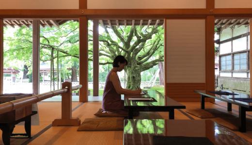 糸島・千如寺で写経体験!