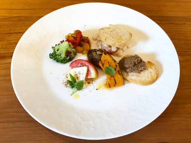 糸島野菜のイタリア前菜5〜6種