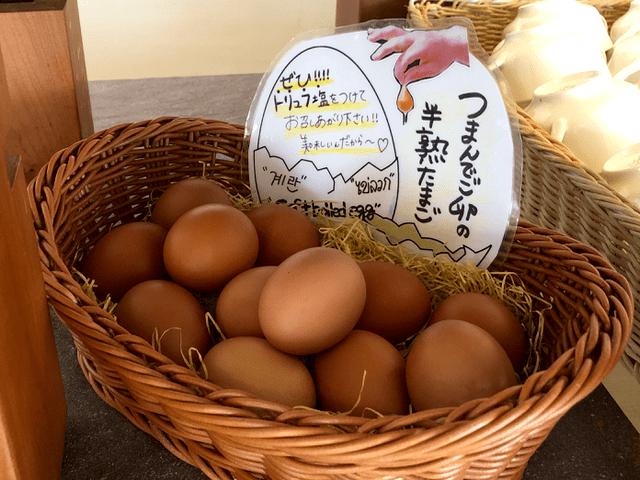 つまんでご卵の半熟たまご