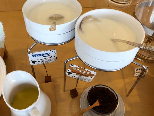 伊都物語のヨーグルトとタピオカのミルク煮