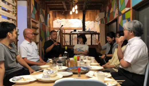 糸島・前原のシェアキッチン「Run Time Itoshima(ランタイム糸島)」で餃子会