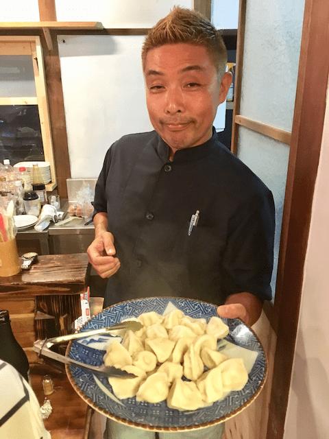 餃子坊 孫悟空の岡崎悟郎さん