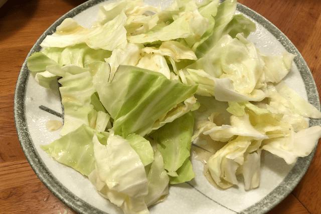 酢ダレキャベツ