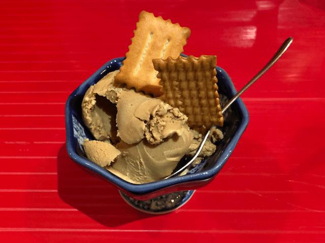 烏龍茶のアイスクリーム