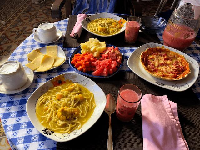 オプションの朝食