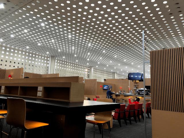 メキシコシティの空港のラウンジ