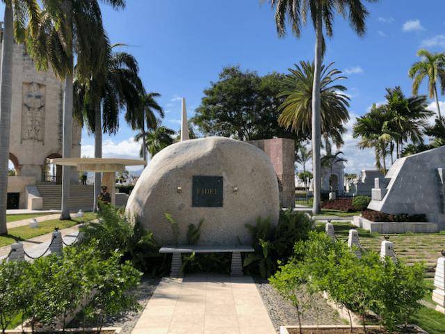 フィデル・カストロの墓