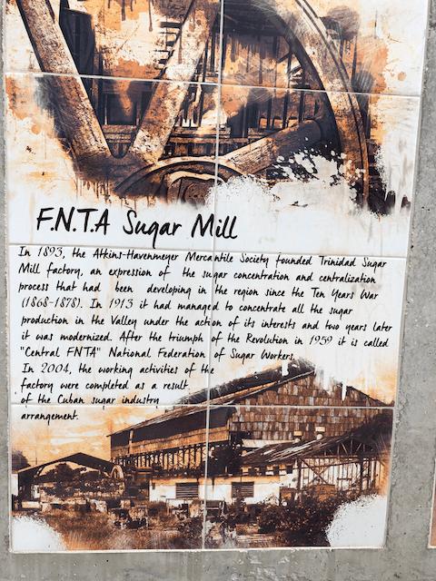 FNTAサトウキビ工場についての説明