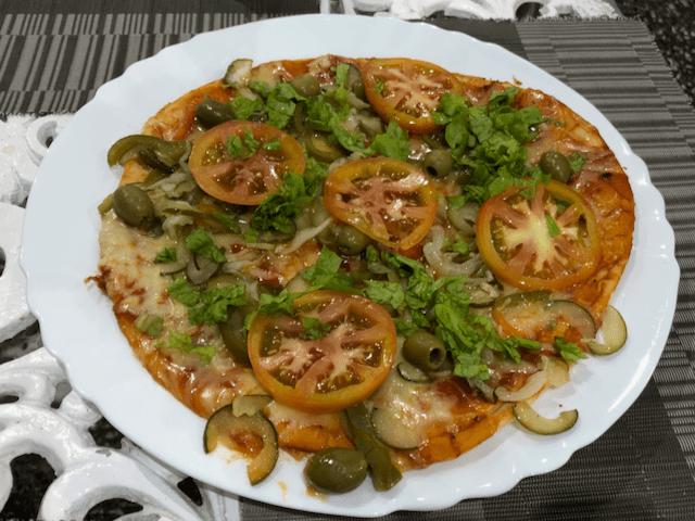 野菜ピザ(Pizza de Vegetales)